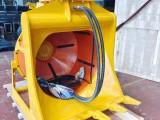 山東金山挖掘機前端屬具液壓滾筒篩分斗