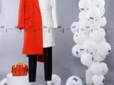 高端品牌 阿谩琳 秋冬品牌专柜品牌折扣 羽绒服棉衣大衣批发