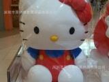 定做Hello Kitty泡沫粒子公仔 卡通布艺玩偶  竹炭包公