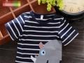 吉林长春夏季地摊2-5元童外贸童装批发纯棉中小童装T恤便宜批