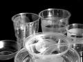 一次性水晶透明餐具