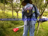 直流24v48v电动割草机 背负式电动割灌机园林果园打草机充电式