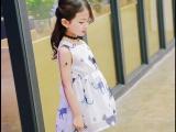 女童连衣裙春秋新款韩版儿童超洋气公主裙蓬蓬纱裙女宝宝裙子