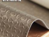 欧式花纹装饰皮革面料、酒店KTV背景墙软包硬包、电视床头PU皮革