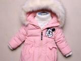 儿童新款羽绒服宝宝童装男童女童秋冬中大童中长款外套