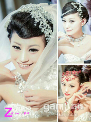 跟妆 化妆 新娘妆 集体演出妆 七月较美新娘造型设计