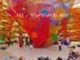 大型淘气堡童拓展 彩虹攀爬网 蜂巢网乐园 彩虹编织网 大型七彩网