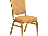 供应酒店宴会椅 会议婚庆椅 饭店钢椅餐桌椅金属软包椅