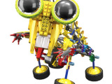 LOZ俐智 A0015大眼机器人益智拼装积木玩具 diy玩具 益