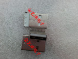 直插 黑色白色USB A公头 USB弯针 USB插头 插板式 电