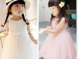 2014夏爆版韩版白玫瑰公主裙批发 女童蓬蓬裙婚纱裙 宝宝连衣裙