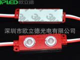 厂家直销 2灯5050注塑模组 防水LED模组 透镜模组