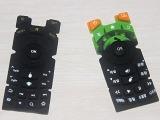 厂家定制硅胶遥控器按键滴胶 遥控器丝印按