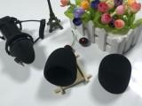 厂家直销麦克风海绵套 海绵话筒套耳机海绵