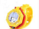 骅威正版 e旋飞天旋斗士 儿童玩具电子手表飞碟飞盘冰鸟e族355