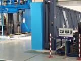 捷鷹科技為德陽二重安裝伸縮門懸浮門
