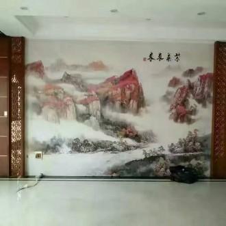 惠州硅藻泥,壁纸墙布,美缝软硬包线条