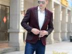2014秋冬新款男士韩版修身西服上衣英伦休闲羊毛时尚西装