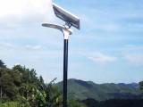农村太阳能LED路灯照亮美丽乡村