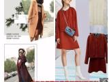桑索时尚冬装潮牌品牌折扣店女装货源进货哪里便宜