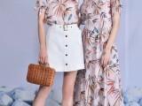 曼诺比菲20夏装品牌折扣女装批发实体店直播间一手货源