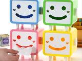 供应可爱笑脸纸巾盒/创意纸巾抽/长方形卡通卷纸盒