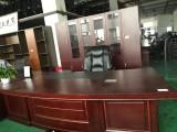 超低价 浦东曹路二手办公家具热销,老板桌书柜,会议桌,活动柜