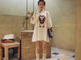 2014新款孕妇装 大码 孕妇 连衣裙 机器人孕妇装 女装大码