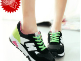 2015春秋潮女阿甘鞋运动鞋女休闲鞋网布N字韩版女鞋低帮 帆布鞋