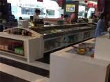 自助餐菜品保鲜柜,卧式小菜自选柜,不锈钢火锅烤肉展示台