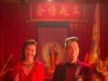 歌手谭咏麟和歌手陈小春合体演电影《江湖话事人》未