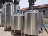 大量出售不锈钢搅拌罐 二手电加热混合罐