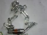 厂家直销:防撬链条锁.电镀叶片链条锁.园