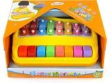 正品宝丽1227欢乐小木琴 幼儿童手敲琴适3-7岁 儿童钢琴音乐
