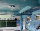 儿童乐园商业空间墙绘,网咖餐饮墙绘,文化墙彩绘