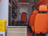 安康120救护车出租,患者坐高铁