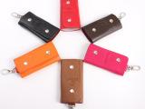 3837义乌批发多色钥匙包 男女钥匙扣 时尚 车标真皮钥匙包