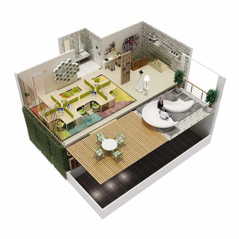 佛山国达装饰专注新房 二手房 旧房翻新等室内装修设计施工服务