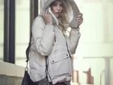 2013冬季新品女士羽绒服正品军工装羽绒服女短款