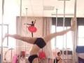 华翎钢管舞总校 零基础成人舞蹈培训 量身定制专业课程
