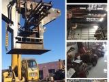 专收钢材废铁设备电缆铜铝白钢塔吊工地单位物资