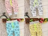 4元新款童装 男女短裤棉印花弹力哈伦裤地摊工厂清仓外贸热销