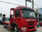转让 平板运输车拉8一15吨挖机拖板车多少钱