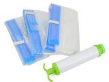 韩版精品 纳川盒装真空压缩袋家庭4件套装附抽气泵 居家日用批发