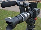 索尼NEX-FS100C数码摄像机高清夜拍镜头硬盘式摄像机正品行货促销