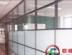 佛山玻璃隔断办公室隔断墙铝合金隔断百叶高隔断间隔墙