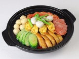 仿真食品模型假菜模型仿真中餐冒菜麻辣烫米线砂锅米线模型定做