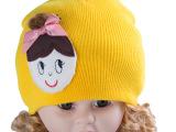 超值 可爱女孩韩版儿童帽全棉婴幼儿帽外贸童帽原单厂家批发LL-1