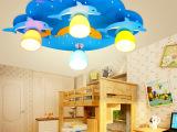 儿童灯具儿童房吸顶灯男孩卧室灯时尚卡通灯饰创意 led吊灯房间灯