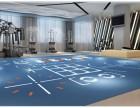 唐山羽毛球场/乒乓球室/舞蹈教室/篮球场地胶运动地板革